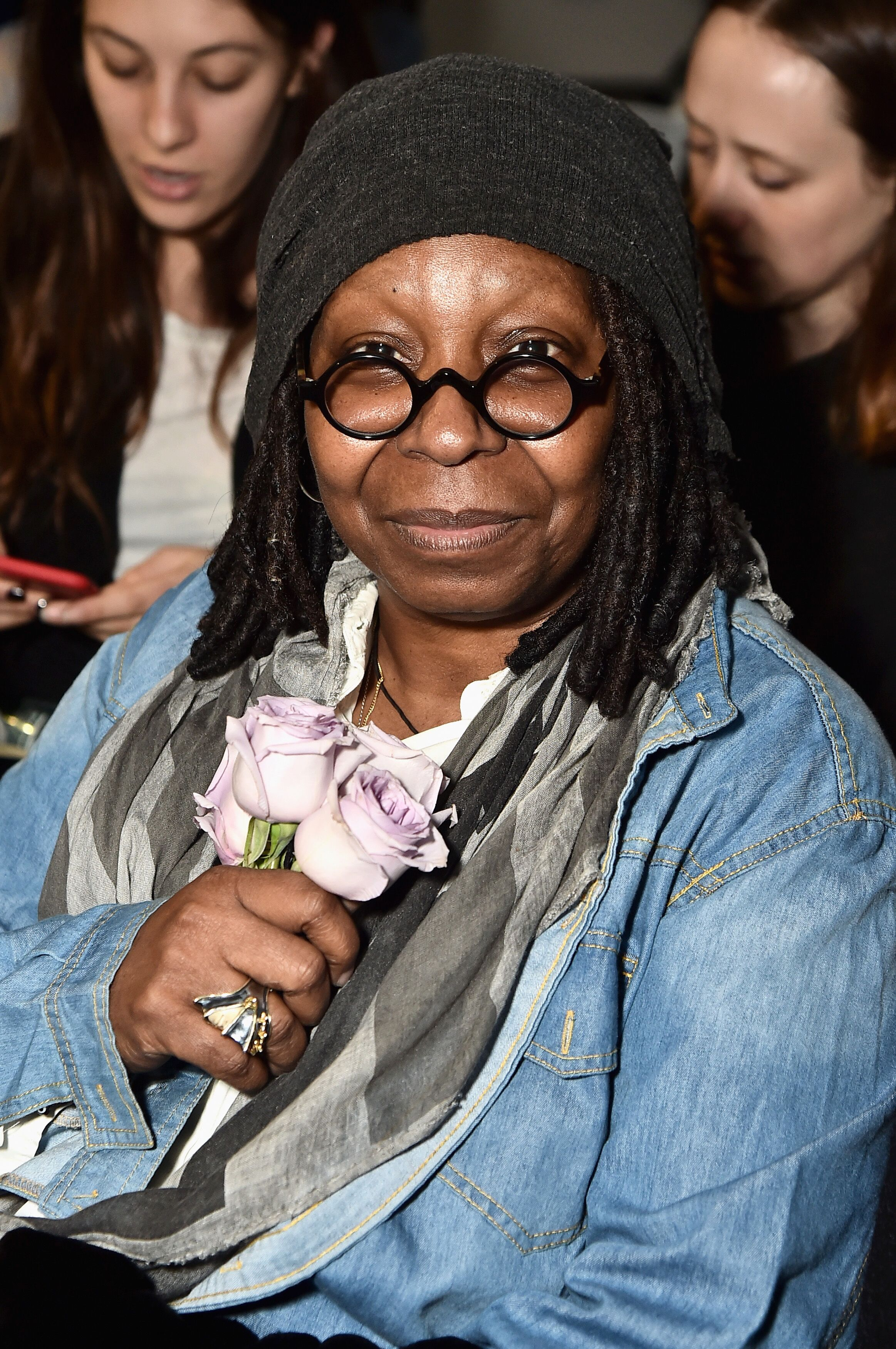 Whoopi Goldberg attends the Brock Collection front row during New York Fashion Week: The shows at Gallery II. | Source: Getty Images