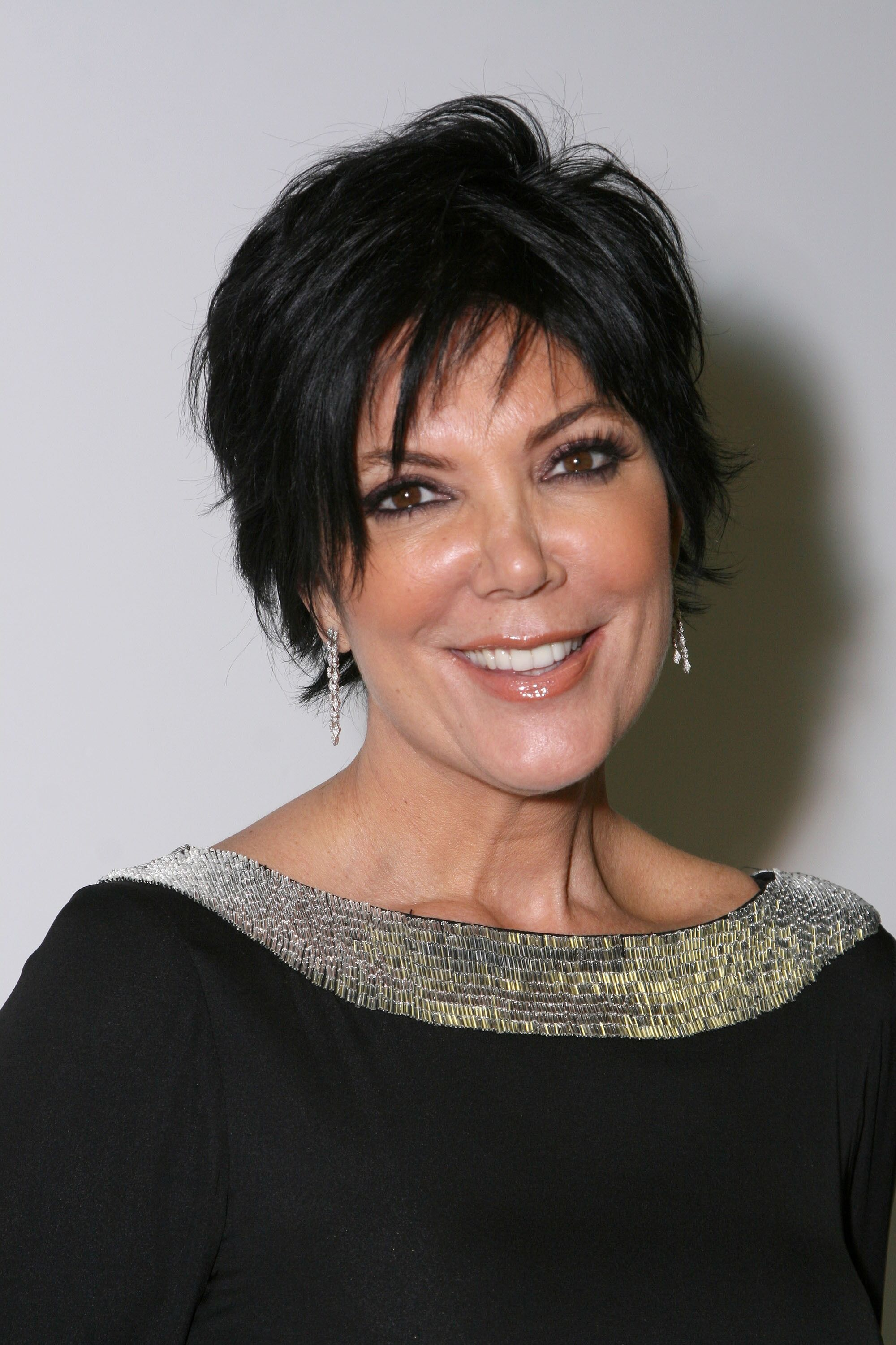 "Kris Jenner arrives at the premiere of  ""Keeping up with the Kardashians"" on October 9,2007. 