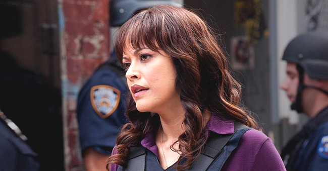Marisa Ramirez of 'Blue Bloods' Posts New Pic of 3-Year-Old Daughter Violet Sitting on a Lego Motorcycle