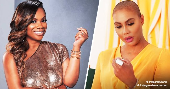 'Celebrity Big Brother' season 2: Tamar Braxton, Kandi Burruss are feuding already after teaming up