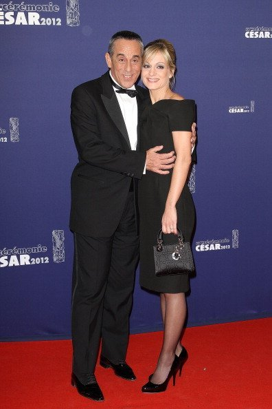Thierry Ardisson et Audrey Crespo-Mara. | Photo: gettyimages