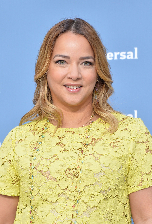 Adamari López en la Presentación de Upfront NBC Universal 2016 en Nueva York. | Imagen: Getty Images