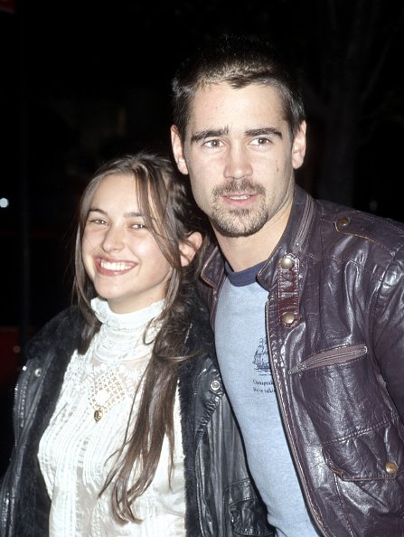 Colin Farrell and Amelia Warner pictured in September 2001. | Photo: Getty Images