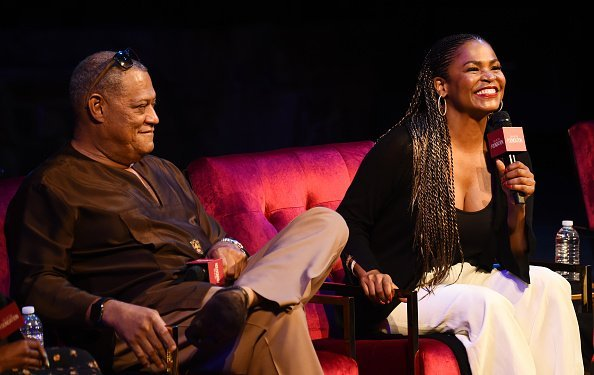 "Laurence Fishburne and Nia Long at the SAG-AFTRA Foundation's Game Changers Screening Series - ""Boyz N The Hood"" event on June 27, 2019 