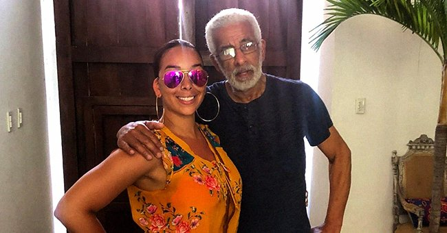 Gloria Govan Hugs Her Father & Husband in New Photos & Honors Them with Sweet Tributes