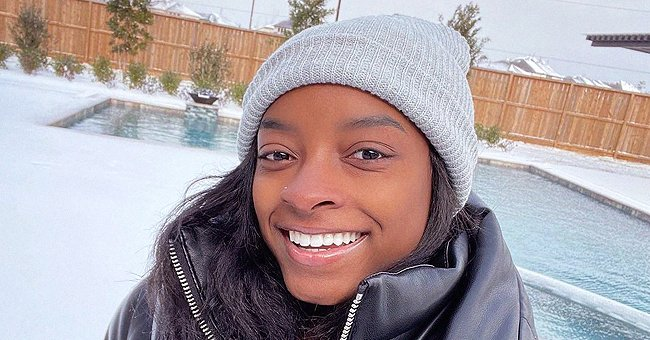 Simone Biles Enjoys Winter as She Gives a Glimpse of the Huge Pool in Her Luxurious Texas Home