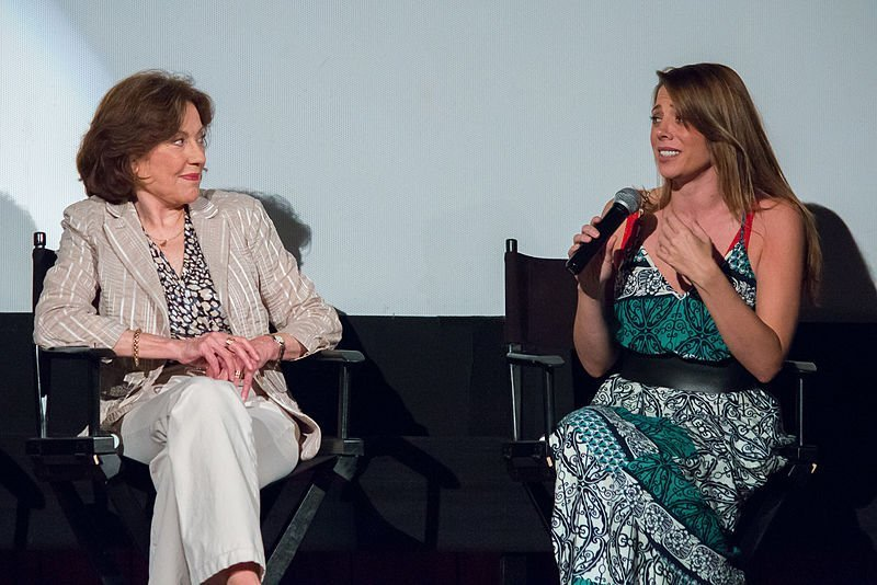 "Kelly Bishop and Stacey Oristano at the ATX TV Festival 2015 for the TV show ""Bunheads."" 