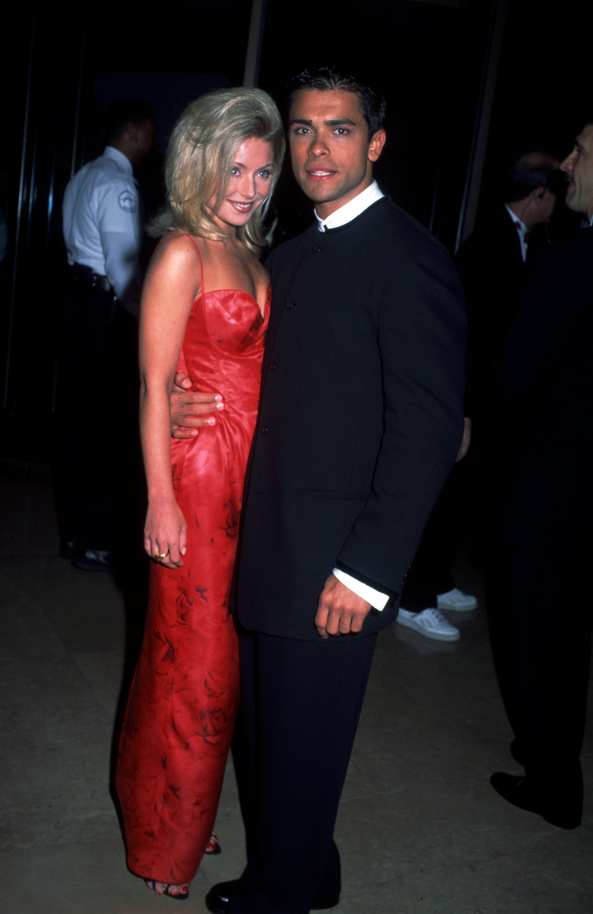 Kelly Ripa and Mark Consuelos. I Image: Getty Images.