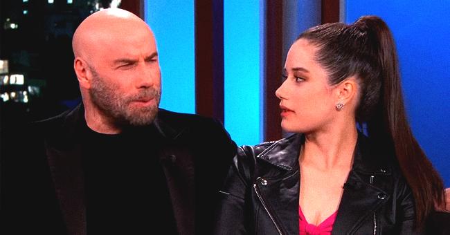 John Travolta Discusses His Bald Head with Grownup Daughter Ella Bleu