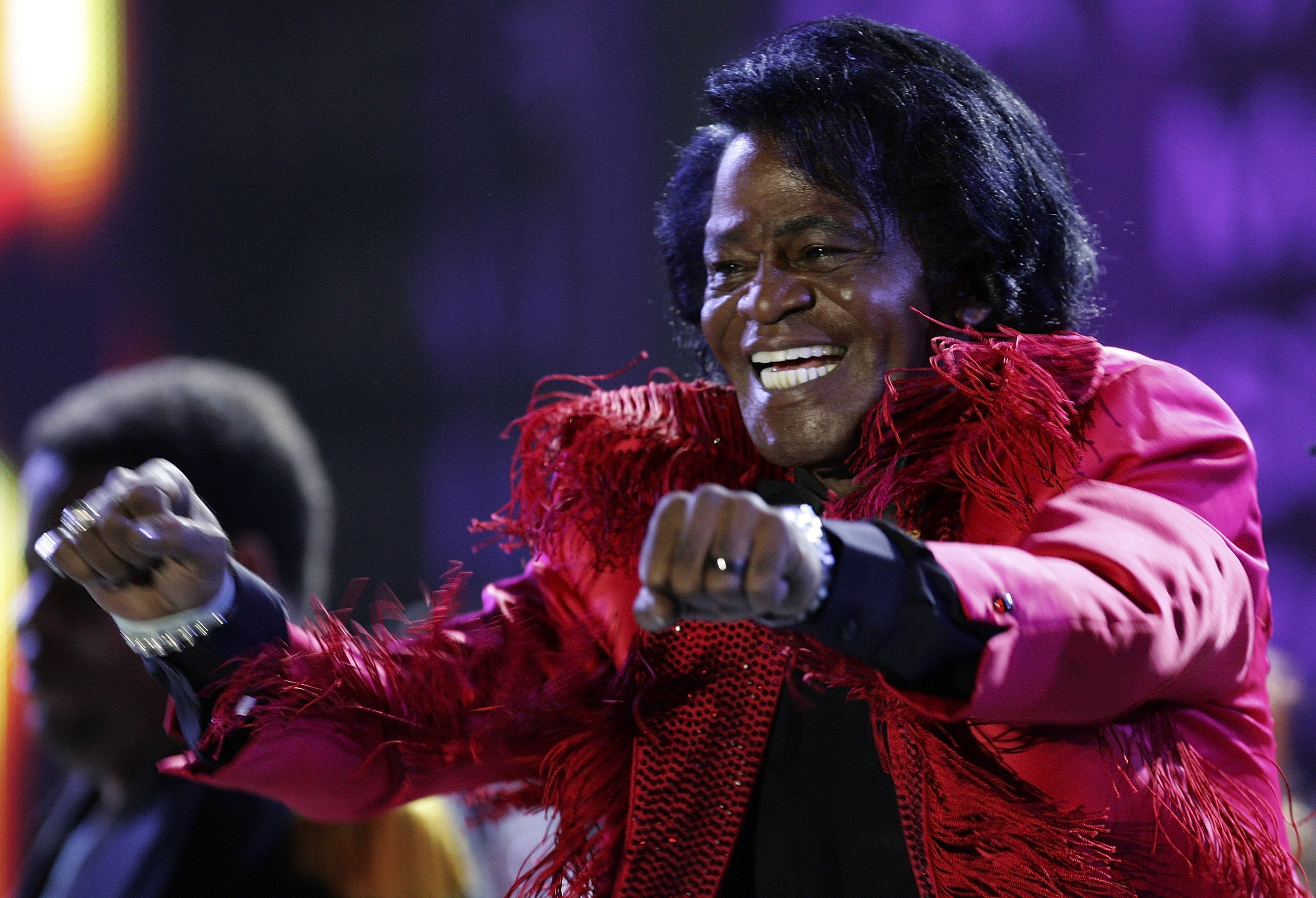 James Brown during a performance | Getty Images/ Global Images Ukraine