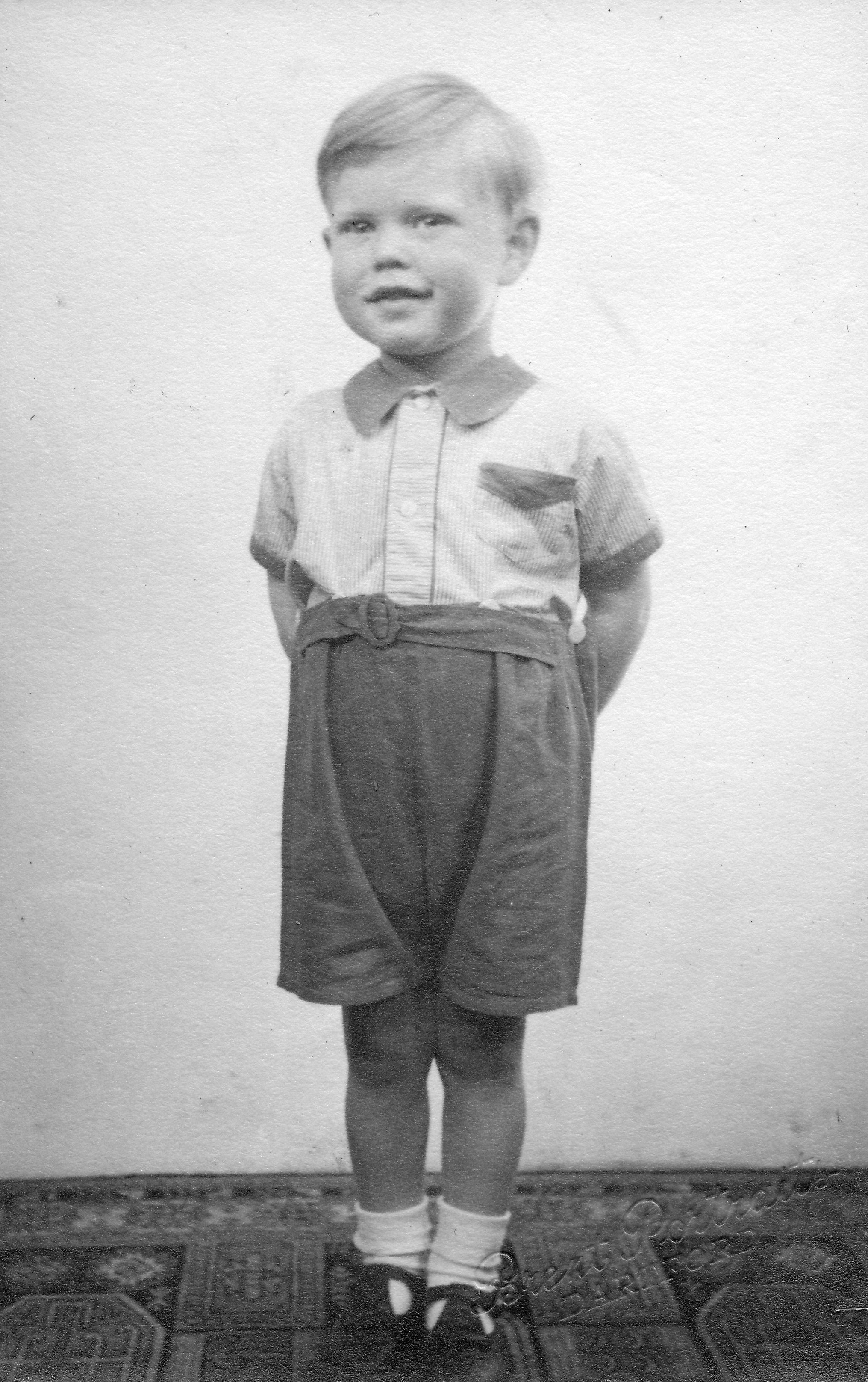 Mick Jagger (aged 3) looking smart at home in Brent Lane, Dartford (1946) on January 01, 1946   Photo: Getty Images