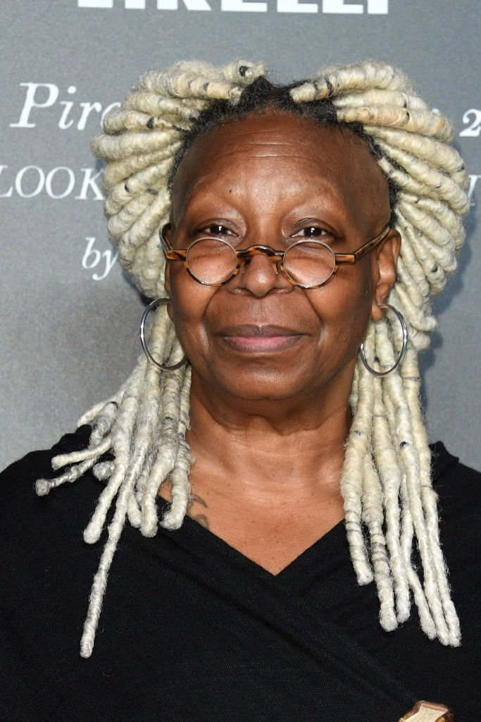 "Whoopi Goldberg attends the presentation of the Pirelli 2020 Calendar ""Looking For Juliet"" at Teatro Filarmonico 