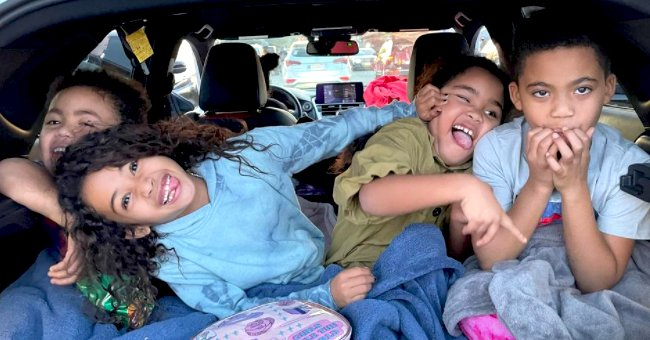 Chris Brown's Daughter Royalty Enjoys a Drive-in Cinema with Her Friends — See the Cute Photos