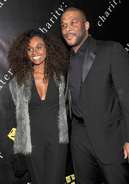 Gelila Bekele and Tyler Perry at the 69th Regiment Armory on December 12, 2011 | Photo: Getty Images