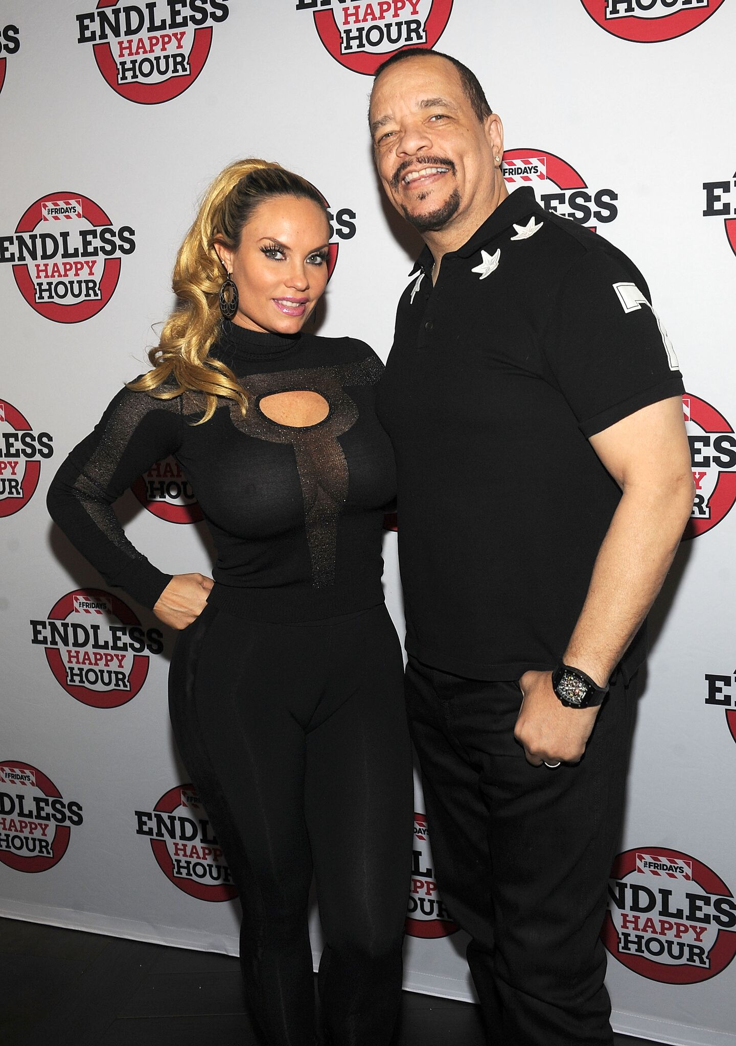 Coco Austin and Ice-T at the TGI Fridays Endless Happy Hour | Getty Images