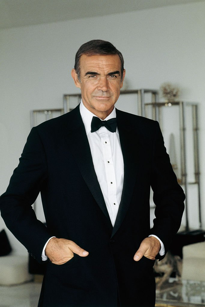 "Sean Connery on set of the movie ""James Bond: Never Say Never Again,"" in 1982. 