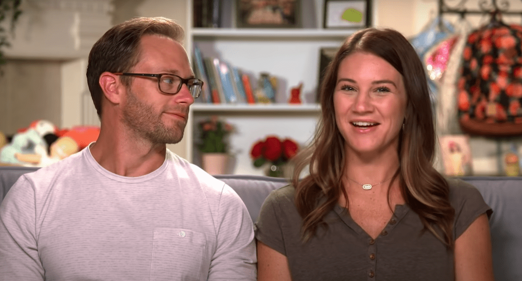 """Adam and Danielle Busby on """"OutDaughtered.""""   Source: YouTube/TLC"""