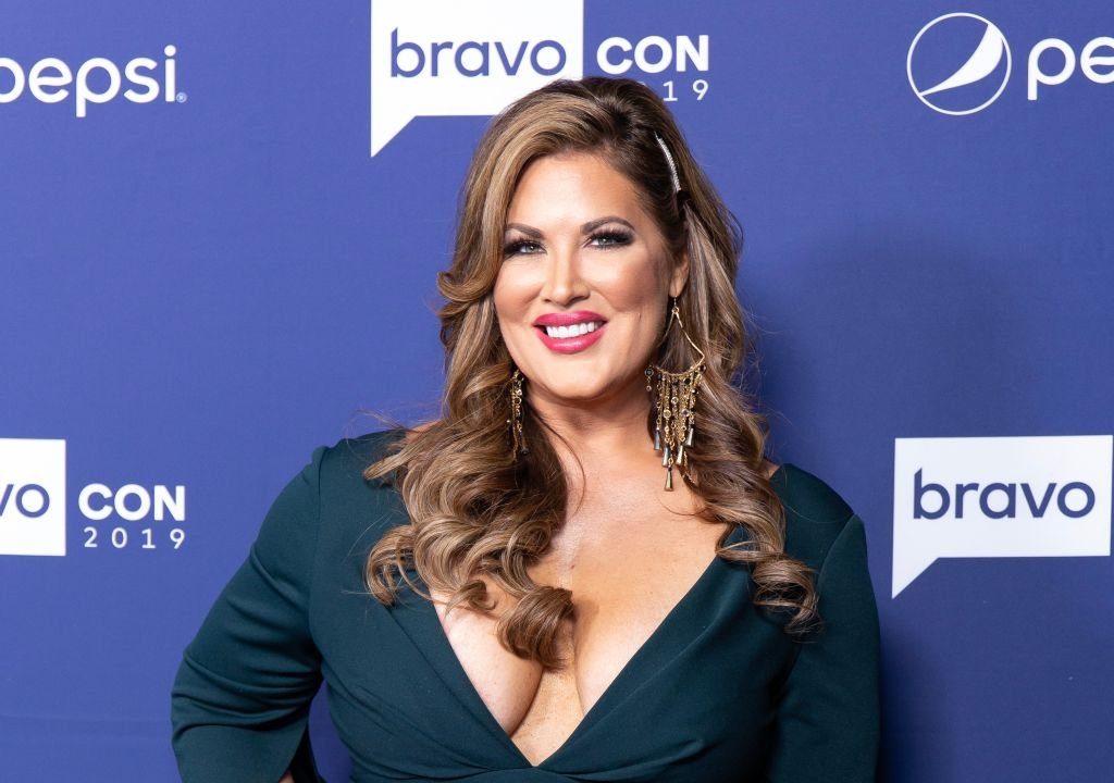 Emily Simpson attends opening night of the 2019 BravoCon at Hammerstein Ballroom on November 15, 2019 | Photo: Getty Images