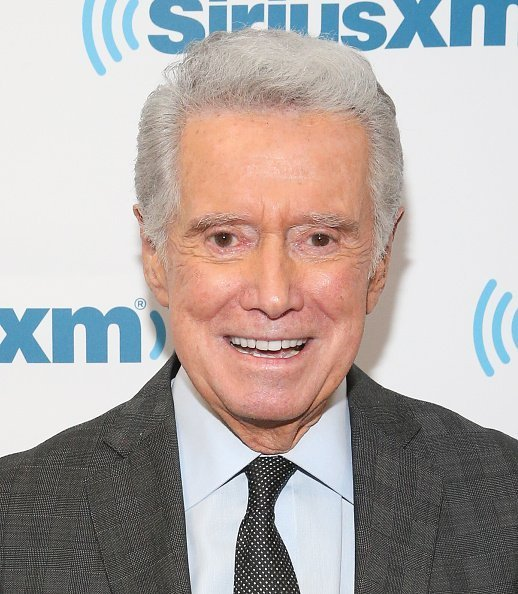 Regis Philbin at SiriusXM Studios on October 3, 2017 in New York City | Photo: Getty Images