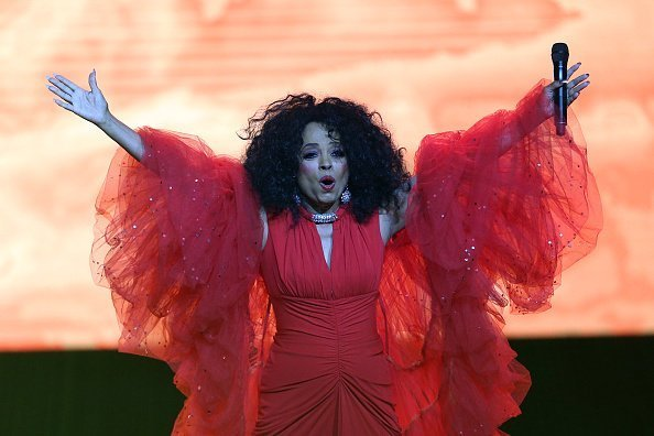 """Diana Ross performs on stage during the 2019 World AIDS Day Concert """"Keep the Promise"""" of AIDS Healthcare Foundation (AHF) on November 29, 2019 