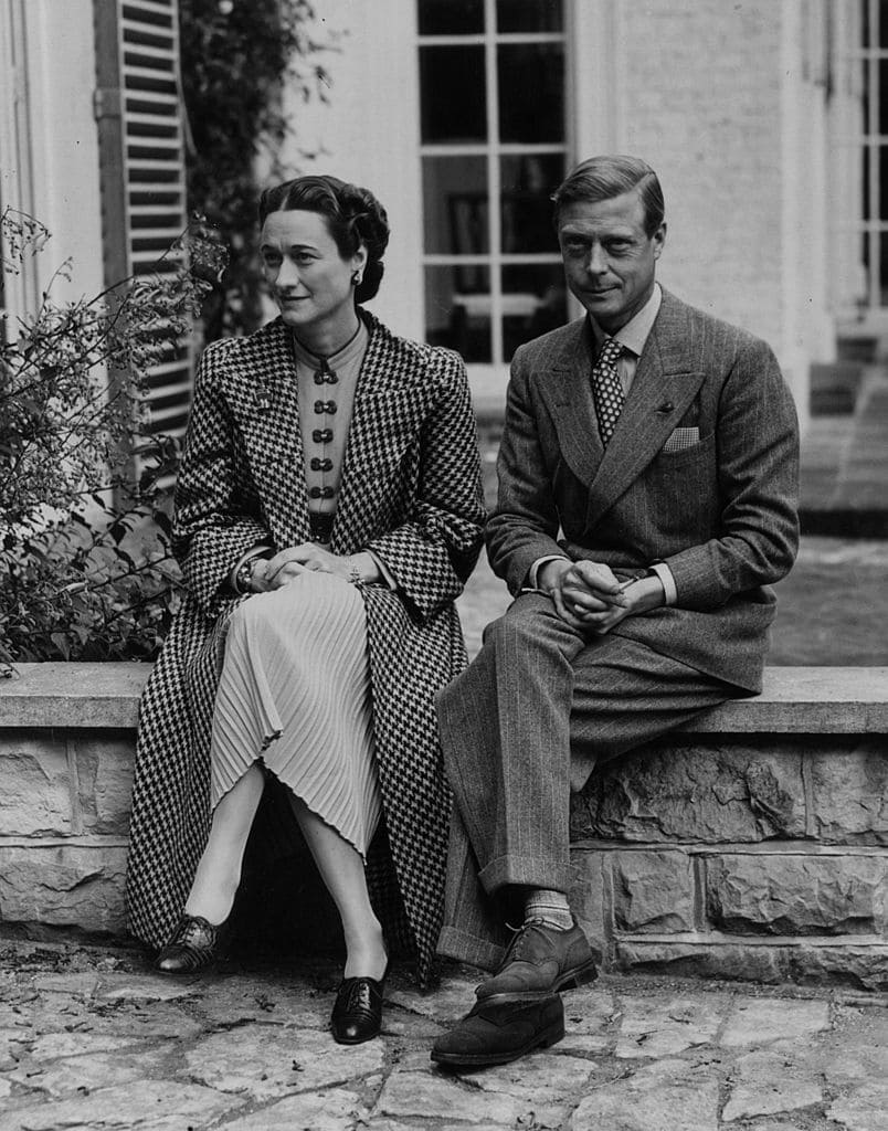 Edward VIII and Wallis Simpson, Duke  and Duchess of Windsor in 1939 | Source: Getty Images