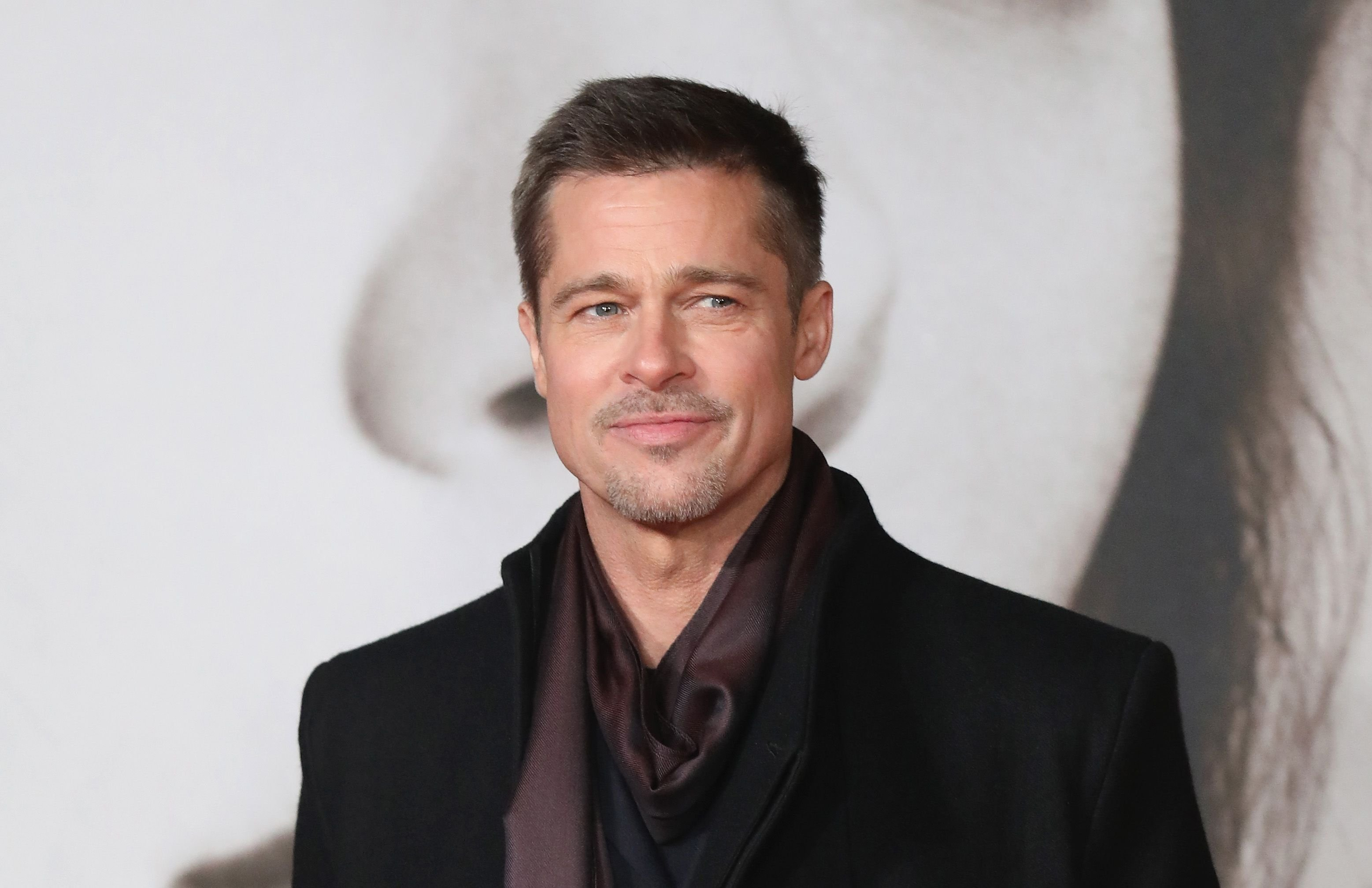 """Brad Pitt at the UK Premiere of """"Allied"""" at Odeon Leicester Square on November 21, 2016 