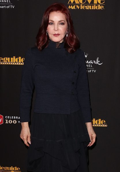 Priscilla Presley at Universal Hilton Hotel on February 08, 2019 in Universal City, California | Photo: Getty Images