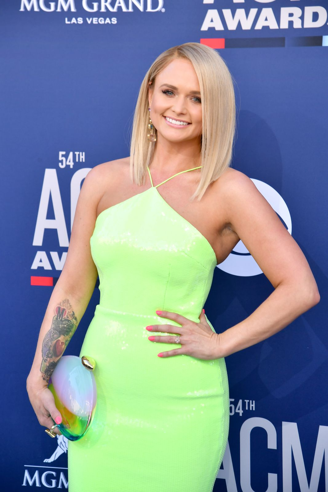 Miranda Lambert at the 54th Academy Of Country Music Awards at MGM Grand Hotel & Casino on April 07, 2019 in Las Vegas, Nevada. | Photo: Getty Images