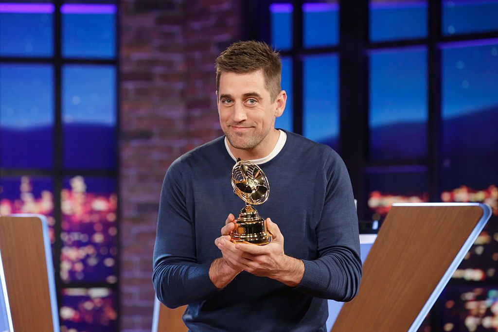 """Aaron Rodgers on """"Big Fan Aaron Rodgers"""" airs on the Walt Disney Television. 