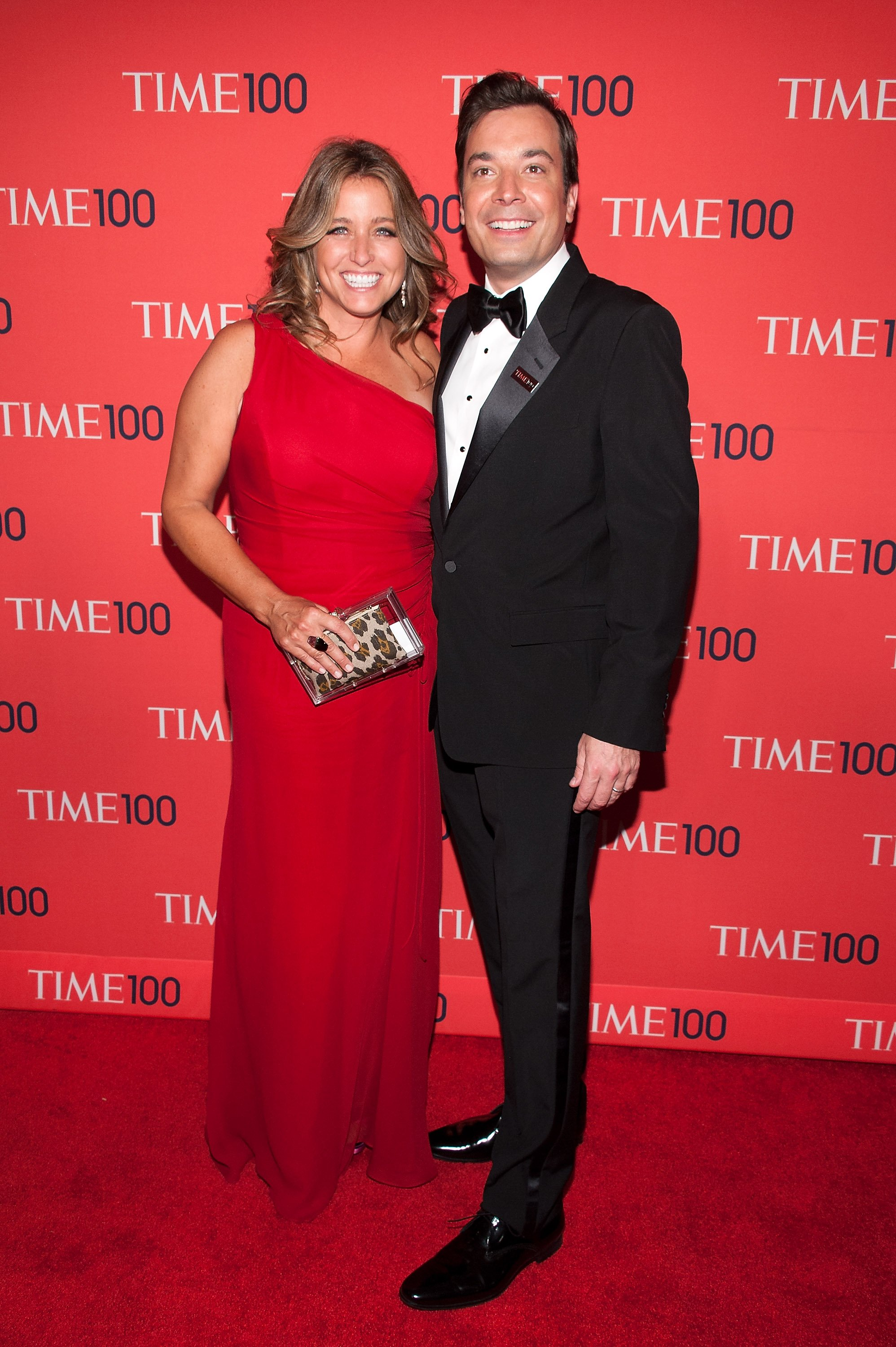 Jimmy Fallon and wife Nancy Juvonen attend the 2013 Time 100 Gala at Frederick P. Rose Hall, Jazz at Lincoln Center on April 23, 2013 in New York City | Photo: GettyImages