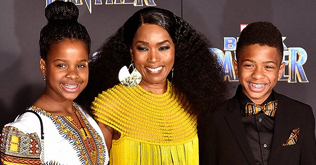 'Black Panther' Star Angela Bassett Explains Why She Teaches Her Teenage Son to Cook & Clean