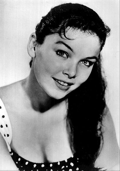 """Yvonne Craig from a 1960 guest appearance on the television program """"Hennessey.""""   Source: Wikimedia Commons"""