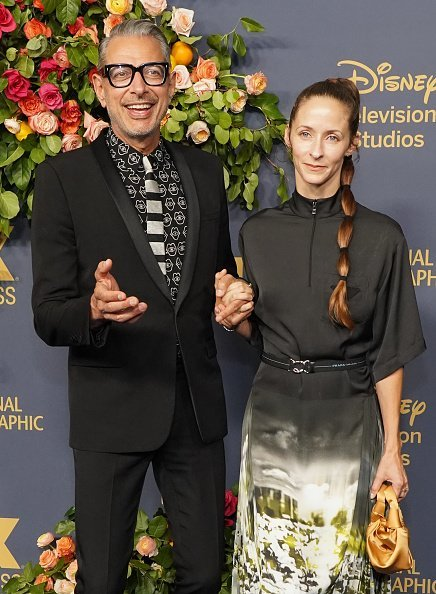 Jeff Goldblum and Emilie Livingston attend the Walt Disney Television Emmy Party | Photo: Getty Images