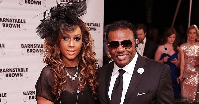 Ron Isley's Much Younger Wife Kandy Looks Unforgettable Rocking a Stylish Blazer with Wavy Hair