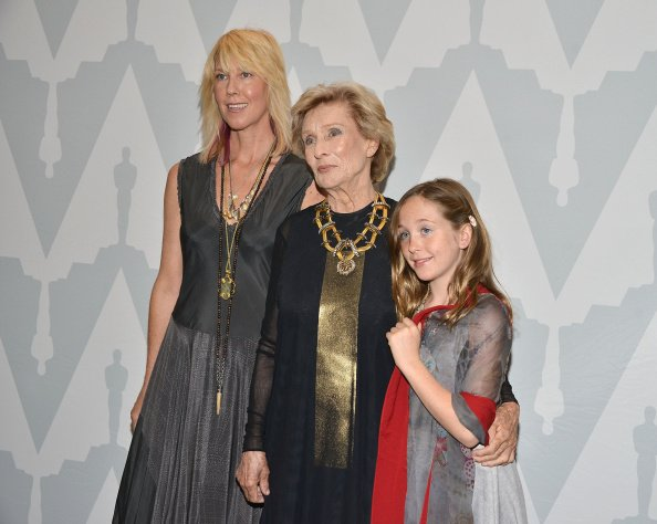 """Dinah Englund, Cloris Leachman and Hallelujah Englund attend The Academy of Motion Picture Arts and Sciences  40th anniversary of """"Young Frankenstein"""" at AMPAS Samuel Goldwyn Theater   Photo: Getty Images"""