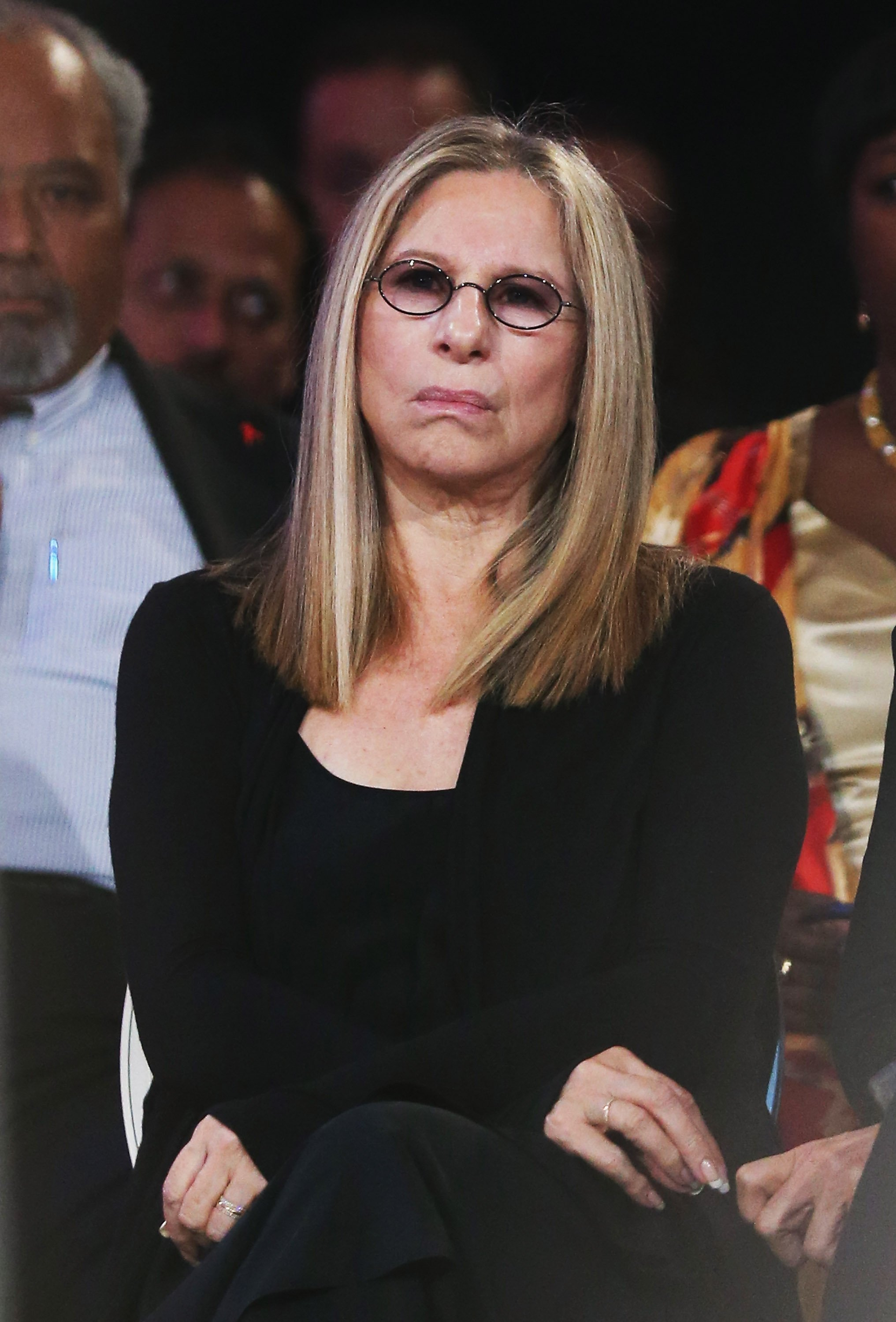 Barbra Streisand at the 2015 Clinton Global Initiative meeting in New York City | Photo: Getty Images