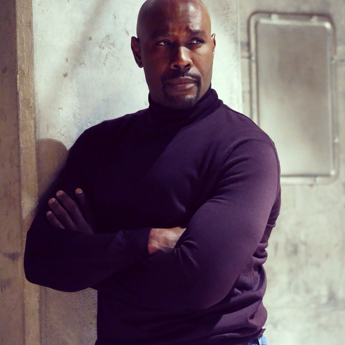 """Source: Twitter / Morris Chestnut / Morris Chestnut as FBI Agent Will Keaton in """"The Enemy Within"""""""