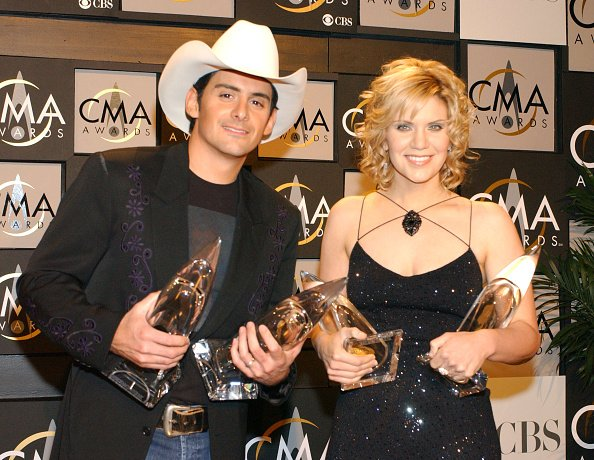 Brad Paisley and Alison Krauss at Grand Ole Opry House in Nashville, Tennessee, United States. | Photo: Getty Images
