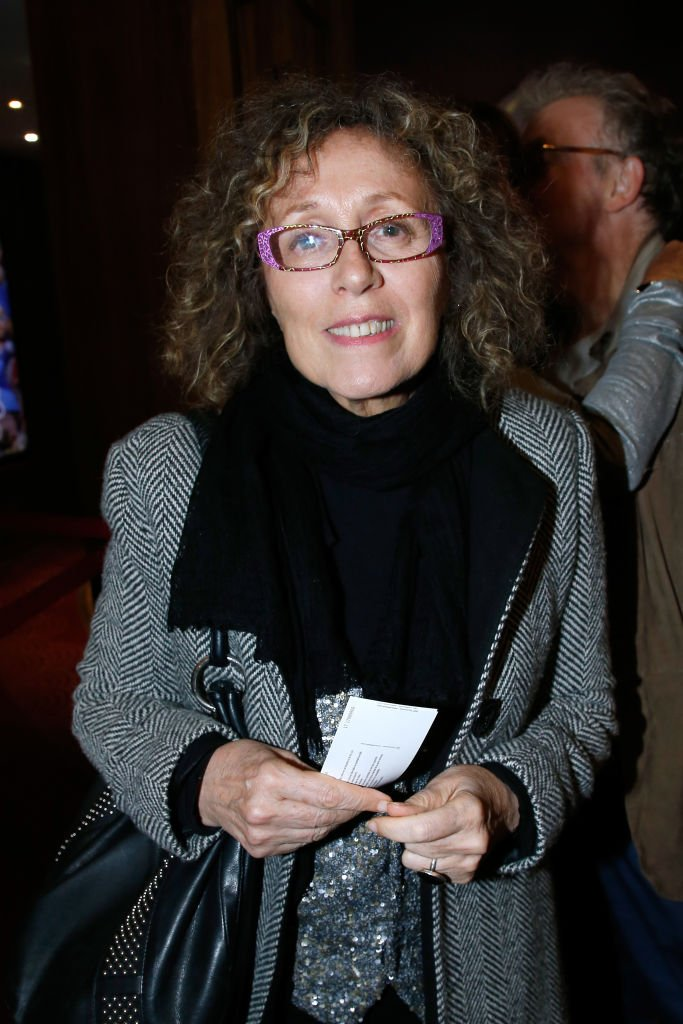 La journaliste Mireille Dumas assiste à Sylvie Vartan en prestation au Grand Rex le 14 avril 2018 à Paris, France. | Photo : Getty Images
