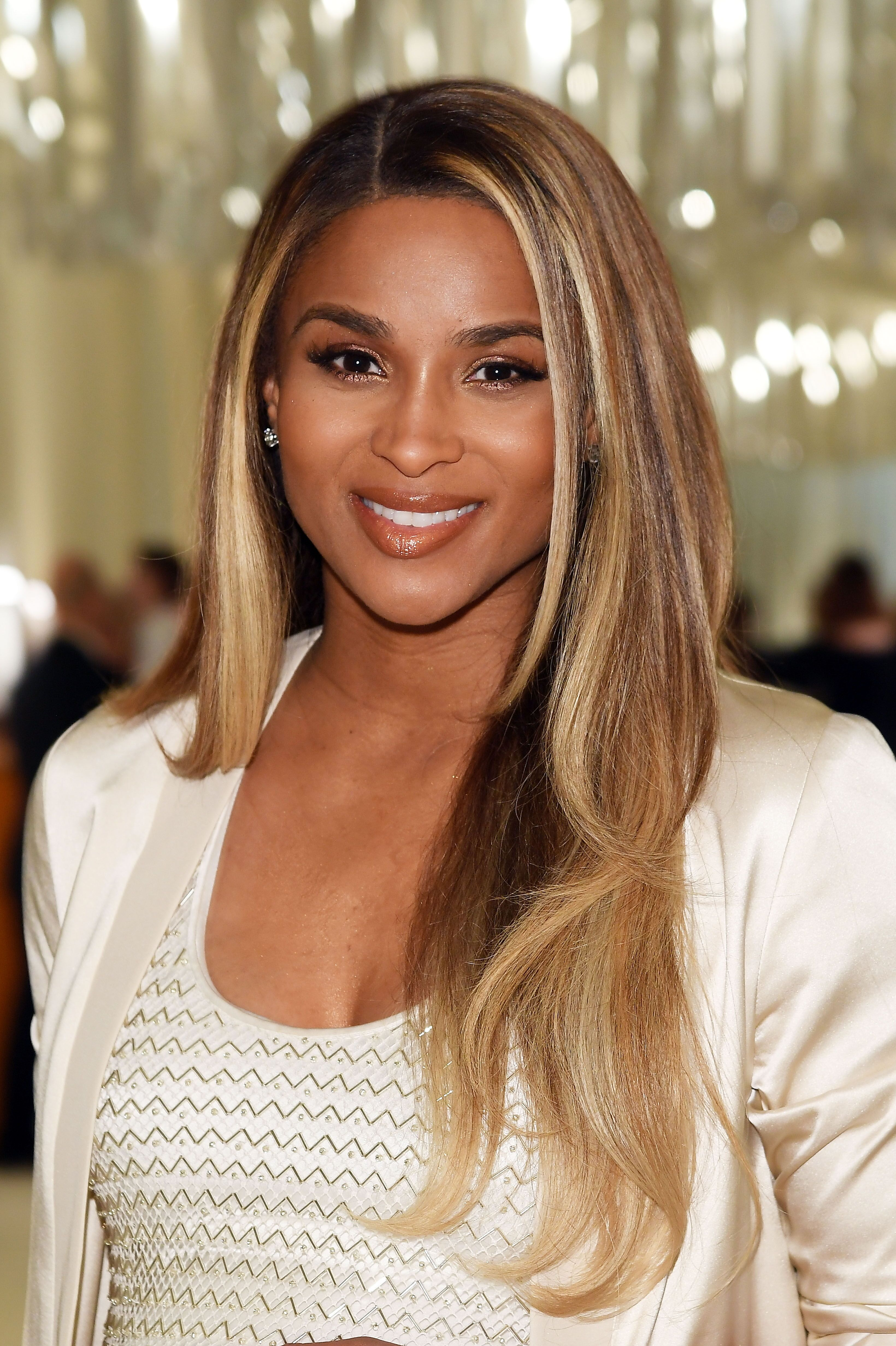 Singer Ciara attends Bulgari at the 25th Annual Elton John AIDS Foundation's Oscar Viewing Party at on February 26, 2017 | Photo: Getty Images