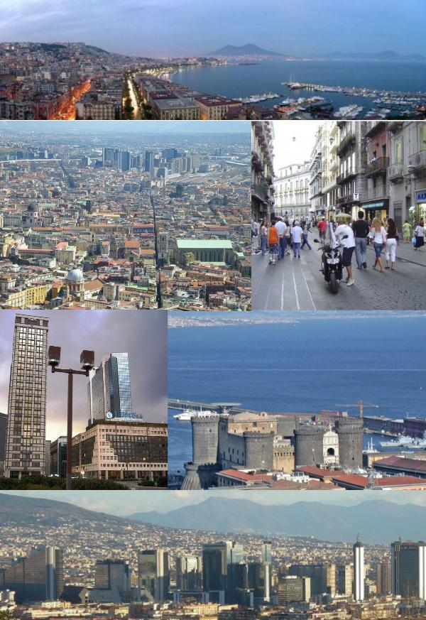 Le montage des photos de Naples, Italie | Source: Wikipedia