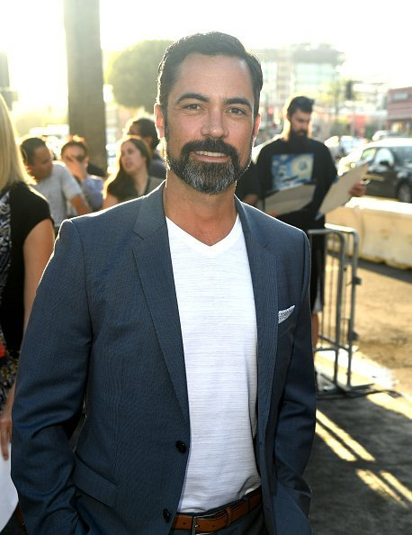 "Danny Pino arrives at the premiere of FX's ""Mayan M.C."" Season 2 at ArcLight Cinerama Dome on August 27, 2019, in Hollywood, California. 