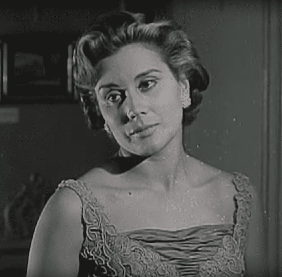 Rita Macedo, famosa actriz de la época de oro del cine mexicano. | Imagen: YouTube/Ventaneando