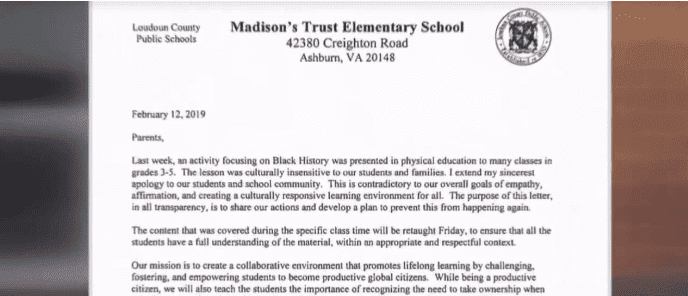 David Stewart, the school's principal, sent a letter to parents apologizing for the incident. | Source: NBC News