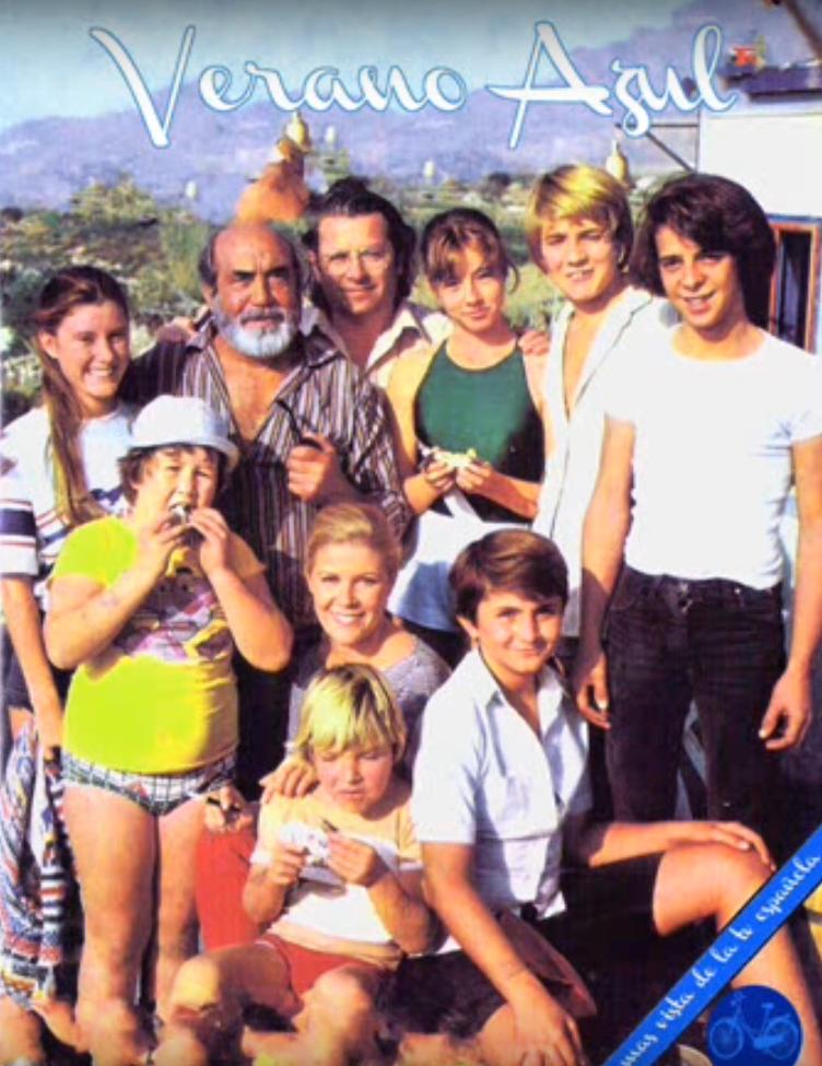Elenco de la serie Verano Azul de 1981. | Imagen: YouTube/Néstor García