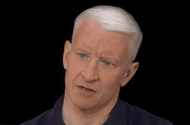 "Anderson Cooper talking to Ann Silvio on ""60 Minutes Overtime"" 