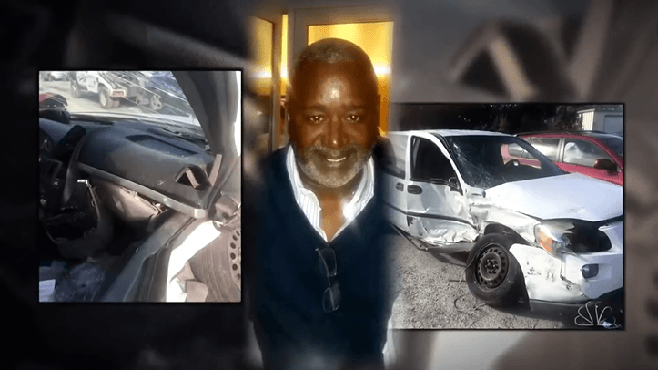 Nathaniel Rhodes, 58, died four days after a car crash. He didn't receive immediate medical care. | Source: YouTube/NBC News