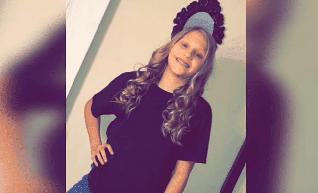 James Peace's 12-year-old daughter   Photo: KHOU 11