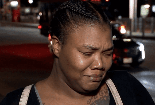 Kashala Francis' mother Mamie Jackson crying over her daughter's passing | Photo: ABC 7