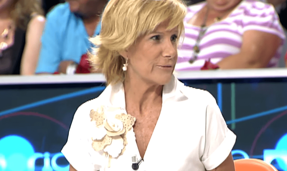 Cuca García de Vinuesa, presentadora española. | Imagen: YouTube/Mediaset España